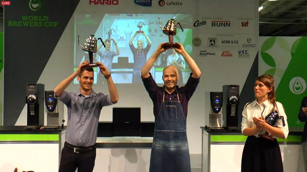 Odd-Steinar Tøllefsen ble verdensmester i Brewers Cup 2015